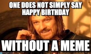 open on your birthday