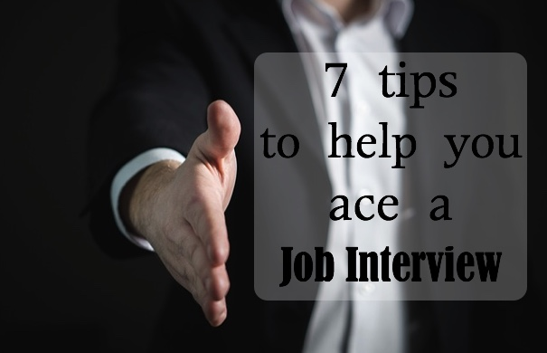 tips to help you ace a job interview